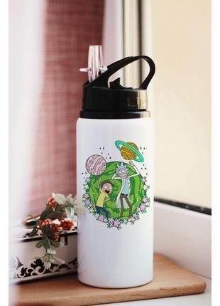 Бутылка для воды рик и морти