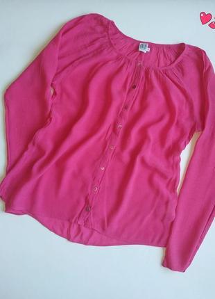Блуза saint tropez на пуговицах, рубашка свободного кроя, молодежная одежда