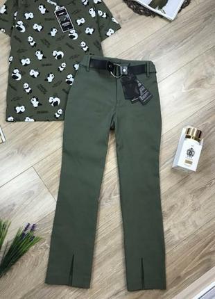 Супер стильные новые укороченные штаны.
