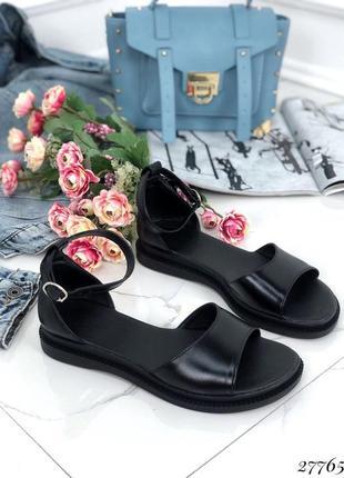 Красивые стильные босоножки, натуральная кожа, сандали