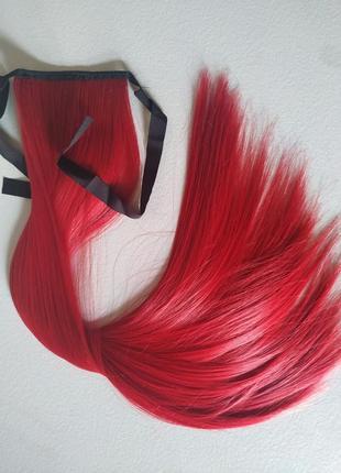 Хвост накладной для волос шиньон парик
