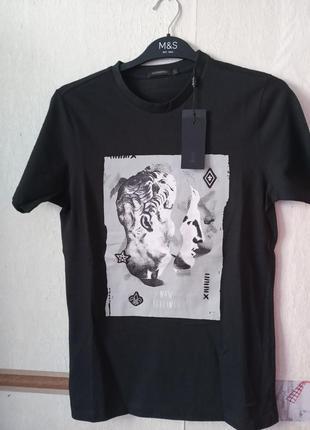 Качественная футболка sorbino 100%хлопок