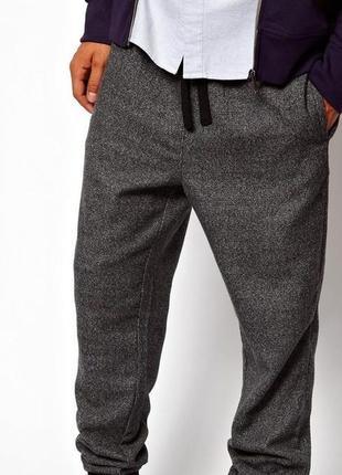 Теплые спортивные брюки с начесом san marina р. 48-50 (l)