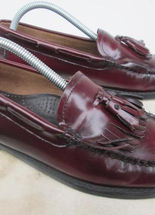 """Стильные кожаные туфли лоферы """" weejuns """". 40 р. ( 26.25 см ). сальвадор."""