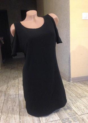 #платье-туника#короткое платье#туника#мини платье#черное платье#