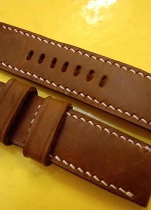 Оригінальгий шкіряний ремігець до годинника.