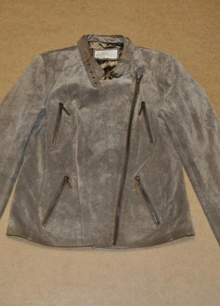 Michael kors косуха куртка кожа корс женская