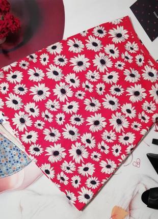 Брендовая юбка laura ashley, лен, размер 12/38 или m