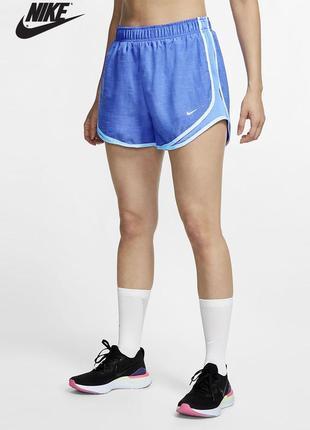 Спортивные синие шорты dry-fit nike