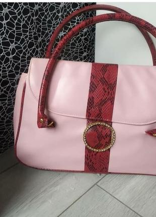 Сумка сумочка розовая