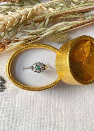 Перстень срібний