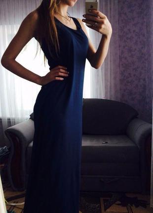 Платье длинный сарафан можно для беременных
