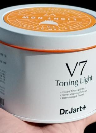 Оригинал dr. jart v7 toning light крем против морщин осветления кожи