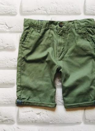 Denim стильные шорты на мальчика 8-9 лет
