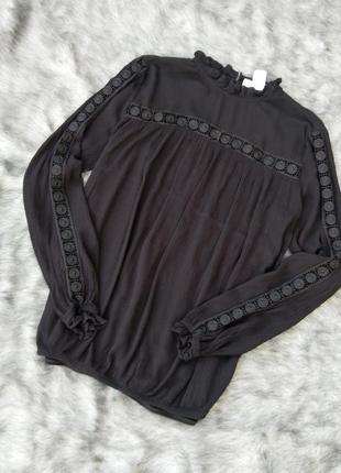 Блуза кофточка из натуральной вискозы h&m