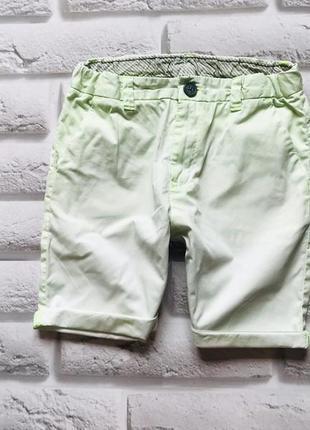 H&m стильные шорты на мальчика 8-9 лет