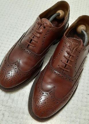 Кожаные дезерты, оксфорды, туфли floris van bommel р. 41-42 голландия