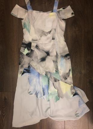 Платье сарафан coast открытые плечи новое с бирками