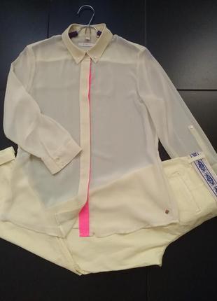 Шифоновая блуза esprit
