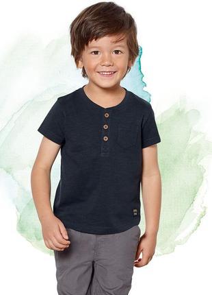 Хлопковая футболка для мальчика lupilu размер 96/92, 98/104 см