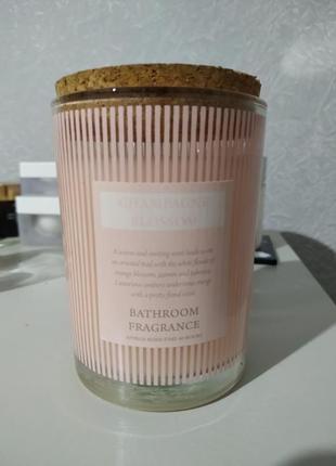 Bathroom fragrance бездымная интерьерная  ароматическая свеча.