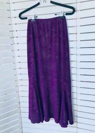 Шикарная яркая  юбка