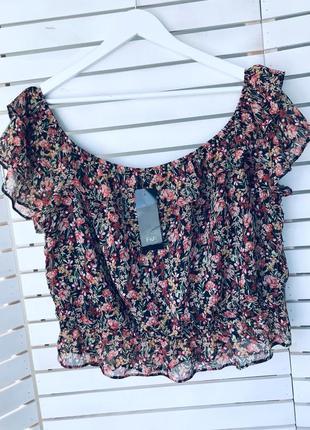 Шикарная блуза f&f uk 22