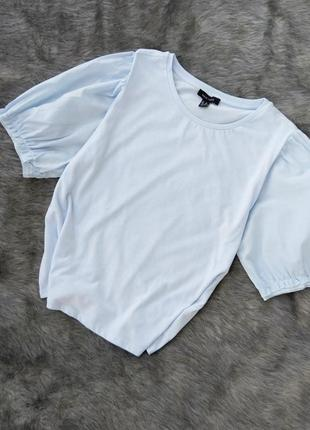Блуза кофточка с рукавами фонариками new look
