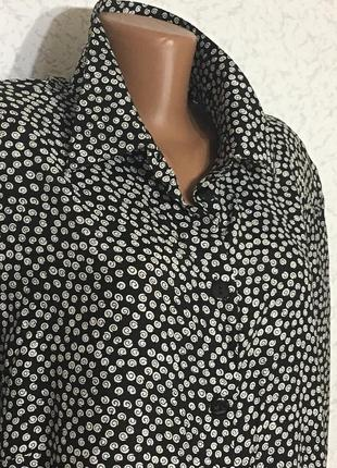 Ботале вискозная блузка рубашка