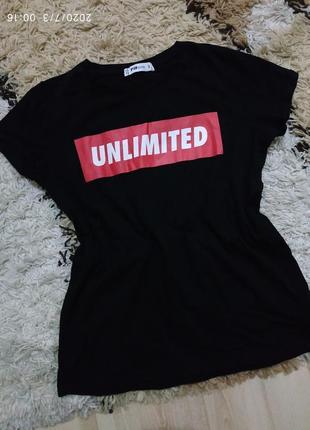 Брендовая футболка с трендовым принтом fb sister , с-m