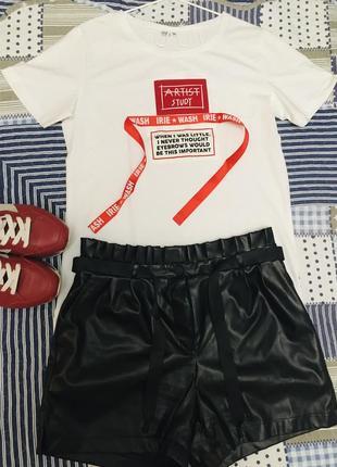 Футболка бренд італія лампаси