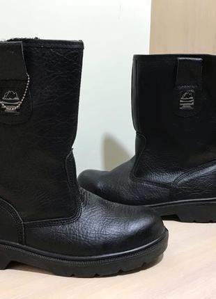 Мужские защитные кожаные ботинки groundwork