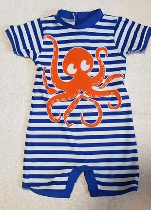Костюм футболка кофта для купания плавания пляжная плавки купальник гидрофутболка