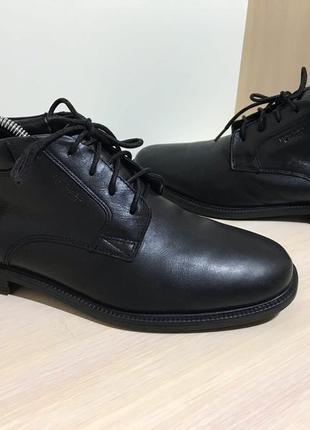 Мужские кожаные ботинки rockport
