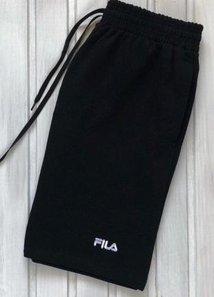 Спортивные шорты fila | трикотажные фила тканевые