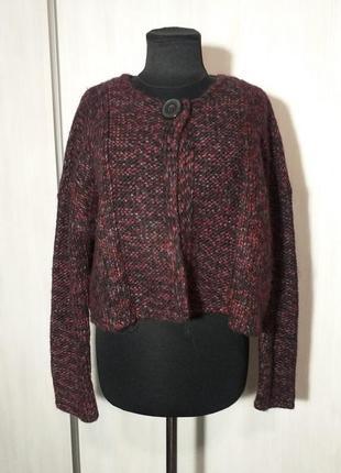Распродажа теплых вещей! свитер-кардиган от animale, crea concept