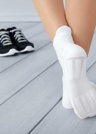 Спортивные короткие носки для кроссовок 38-42 tcm tchibo германия