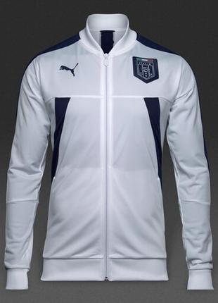 Оригинальная олимпийка свежая коллекция puma ®figc italia stadium track jacket
