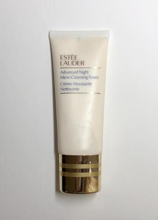Пенка для умывания estée lauder advanced night micro cleansing  foam, 100 ml.