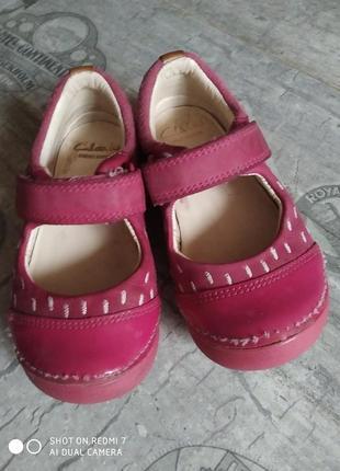 Шкіряні туфлі, мокасіни clarks1 фото