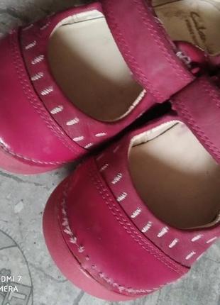 Шкіряні туфлі, мокасіни clarks3 фото