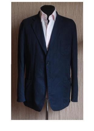Пиджак gant блейзер лен хлопок