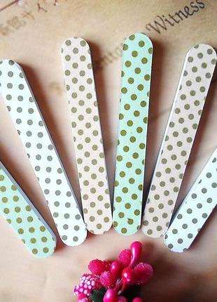 Милый набор пилочек для ногтей «полька»