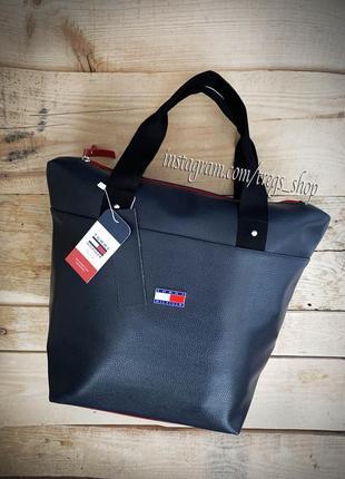 Шикарная новая качественная сумка tommy / клатч / кроссбоди / шопер