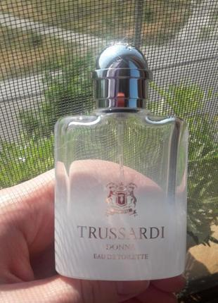 Trussardi donna оригинал туалетная вода, пустой флакон в коробке