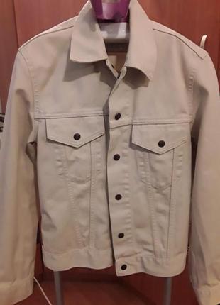 Джинсовая куртка о.36  levis