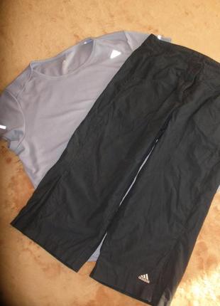 Комплект костюм для спорта фитнеса йоги бриджи футболка