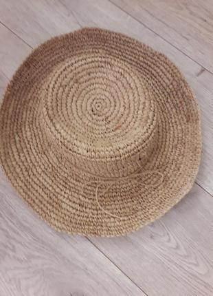 Настоящая соломенная шляпка accessorize