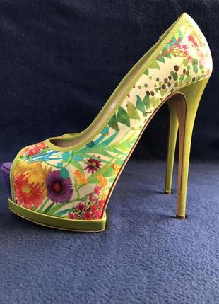 Стильные туфли  gianmarco lorenzi