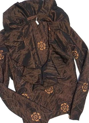 Короткий блейзер/ пиджак с цветочным принтом zara (огромный выбор пиджаков)